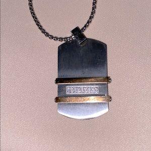 KIE pendant necklace